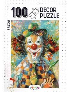 Oyunzu Palyaço Decor Puzzle - 100 Parça