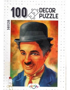 Oyunzu Charlie Cahplin Decor Puzzle - 100 Parça