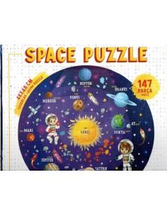 Oyunzu Space Puzzle Ahşap - 147 Parça