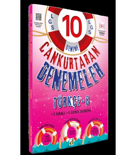 Damla Yayınları 8.Sınıf LGS Türkçe Can Kurtaran Denemeler