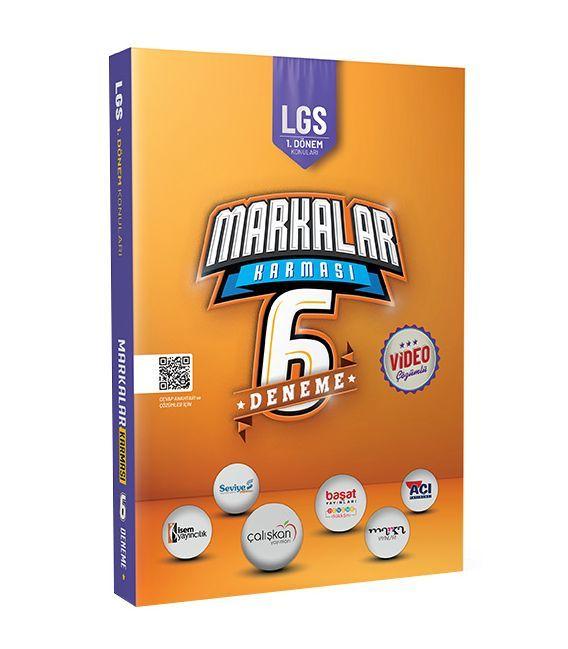 2021 LGS 1. Dönem Markalar Karması 6 Farklı Yayın 6 Faklı Yeni Nesil Deneme Marka Yayınları
