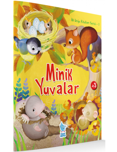 Damla Yayınları Minik Yuvalar - İlk Doğa Kitabım Serisi 1