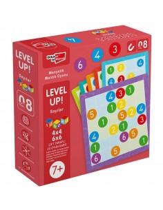Dikkat Atölyesi LevelUp 8 - Sayılar Sudoku