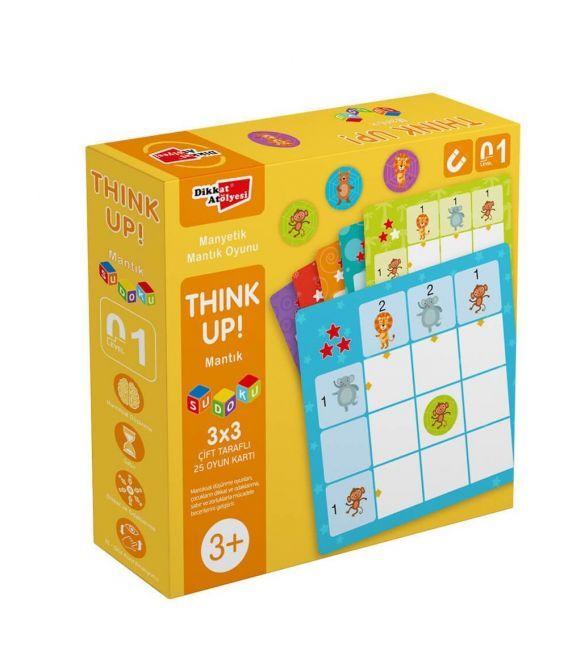 Dikkat Atölyesi LevelUp 1 - ThinkUp Mantık Sudoku