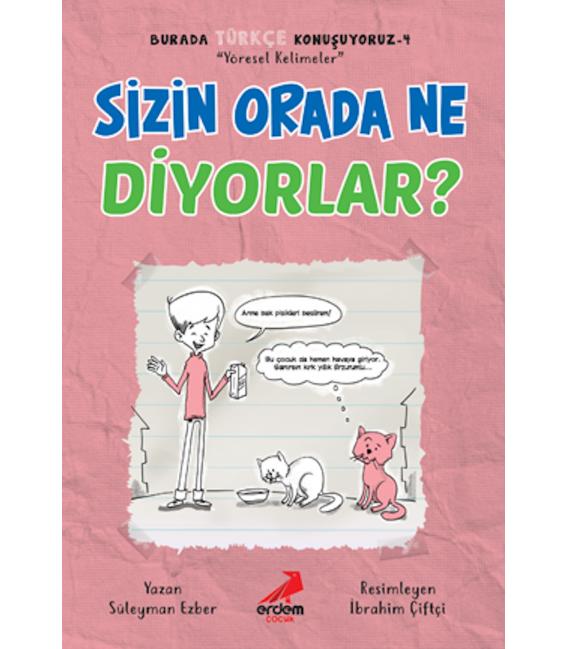 Erdem Yayınları Burada Türkçe Konuşuyoruz (5 kitap)
