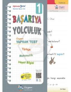 Üçgen Yayınları 1. Sınıf Başarıya Yolculuk Yaprak Test Yeni