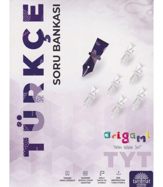 Tammat Yayıncılık TYT Türkçe Soru Bankası Origami