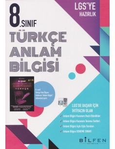 8.Sınıf Türkçe Anlam Bilgisi Etkinlikli Soru Bankası Bilfen Yayıncılık