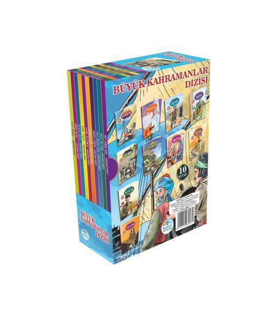 Maviçatı Yayınları Büyük Kahramanlar Seti 10 Kitap