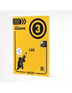 Hız Yayınları 8. SINIF LGS 3LÜ Genel Deneme