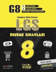 Üçgen Yayınları 8. Sınıf LGS 8'li Deneme Sınavları