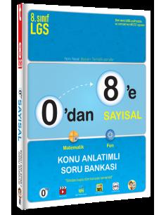 Tonguç 0'dan 8'e Sayısal Konu Anlatımlı Soru Bankası