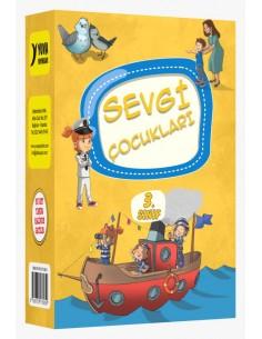 Yuva Yayınları Sevgi Çocukları Hikaye Seti (10 Kitap)
