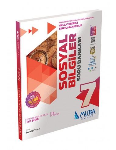 Muba Yayınları 7. Sınıf Sosyal Bilgiler Soru Bankası