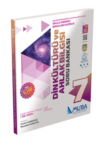 Muba Yayınları 7. Sınıf Din Kültürü ve Ahlak Bilgisi Soru Bankası
