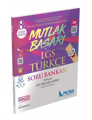 Muba Yayınları 8. Sınıf LGS Mutlak Başarı Türkçe Soru Bankası
