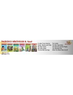 Özyürek Yayınları İlkokul 8.Sınıf İngilizce Hikaye Seti (10 Kitap + 1 CD)