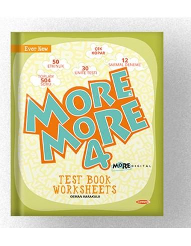 Kurmay Yayınları More More  4. Sınıf  Worksheets Test Book
