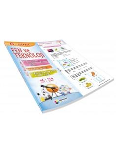 Dörtrenk Yayınları 6.Sınıf Fen ve Teknoloji Yaprak Test