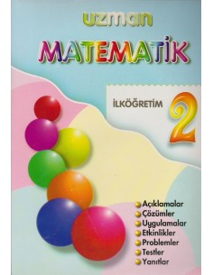 Derpaş Yayınları Uzman 2.Sınıf Matematik Kitabı