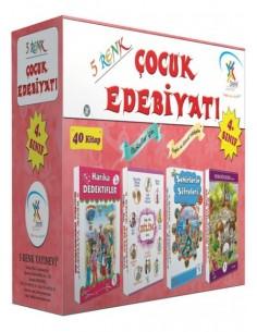 5 Renk Yayınları 4.Sınıf Çocuk Edebiyatı(40 Kitap)