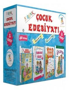 5 Renk Yayınları 3.Sınıf Çocuk Edebiyatı(40 Kitap)