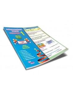 Duru Yayınları İlkokul 1.Sınıf Değerlendirme Yıldızı Yaprak Test