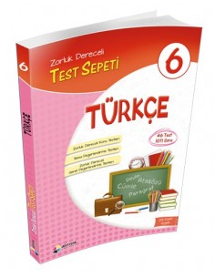 Dörtrenk Yayınları 6.Sınıf Türkçe Test Sepeti