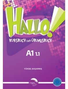 Gündüz Yayınları Lingus Hallo Kursbuch & Übungsbuch A1 1.1