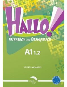 Gündüz Yayınları Lingus Hallo Kursbuch & Übungsbuch A1 1.2