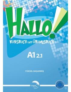Gündüz Yayınları Lingus Hallo Kursbuch & Übungsbuch A1 2.1