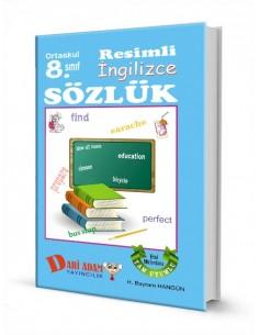 Dahi Adam Yayınları Ortaokul 8.Sınıf İngilizce Resimli Sözlük