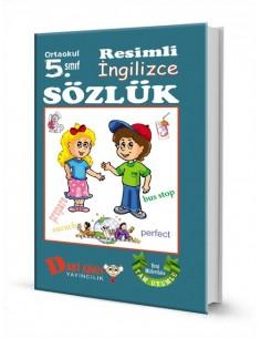 Dahi Adam Yayınları Ortaokul 5.Sınıf İngilizce Resimli Sözlük