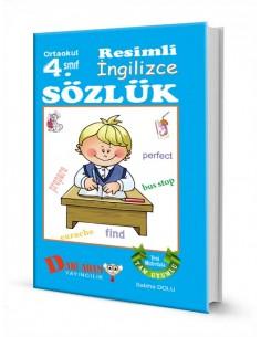 Dahi Adam Yayınları İlkokul 4.Sınıf İngilizce Resimli Sözlük