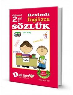 Dahi Adam Yayınları İlkokul 2.Sınıf İngilizce Resimli Sözlük