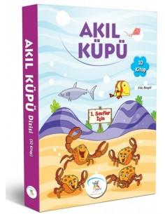 5 Renk Yayınları İlkokul 1.Sınıf Akıl Küpü Dizisi Hikaye Seti (10 Kitap)