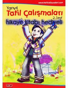 Top Yayınları 2.Sınıf Renkli Yarıyıl Tatil Kitabı (hediyeli)