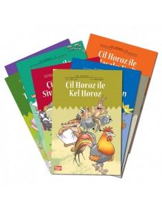 Top Yayınları 1.Sınıflar için Çil Horoz Hikaye Seti