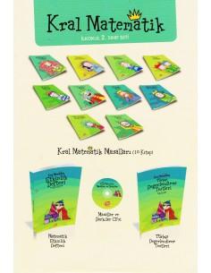 Top Yayıncılık 2. Sınıf Kral Matematik Masalları
