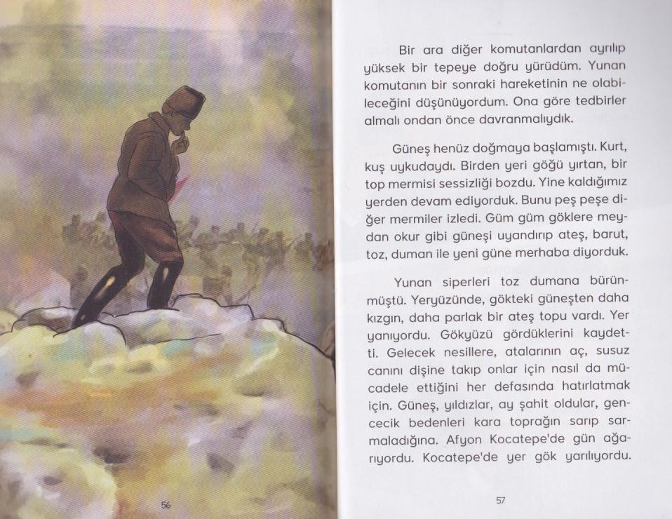 Benim Adım Gazi Mustafa Kemal Atatürk öykü Yayıncılık