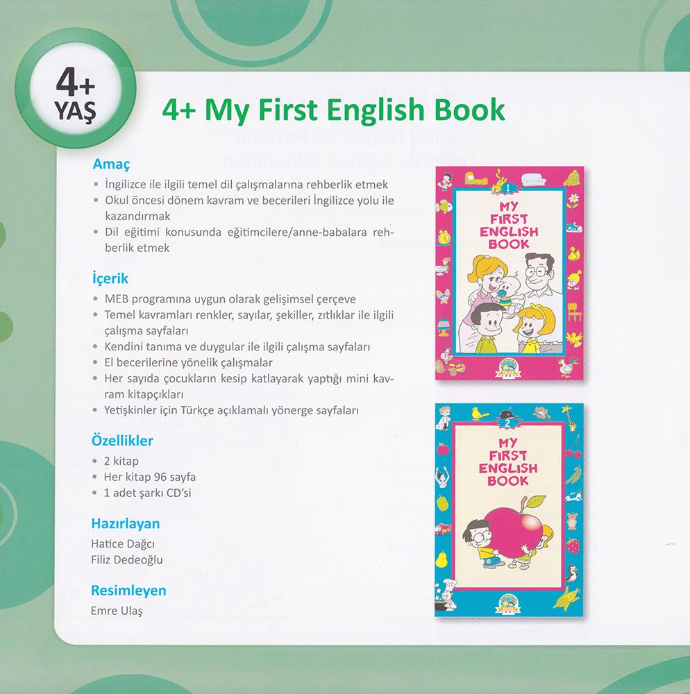 Yapa Yayinlari 4 Yas My First English Book 2 Kitap