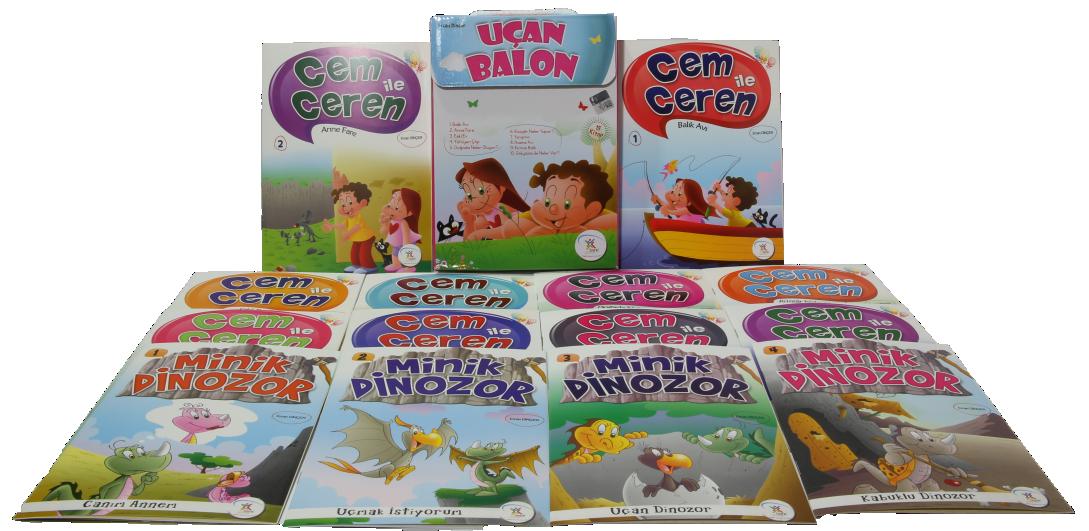 5 Renk Yayinlari Ucan Balon Hikaye Seti 15 Kitap